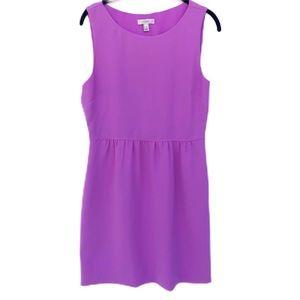 J.Crew Camille Neon Violet Sheath Dress Size 8